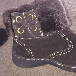 Bare Traps boots!! Worn 2times! Brown! 8.5M!